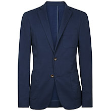 Buy Jaeger Broken Stripe Slim Blazer, Navy Online at johnlewis.com