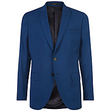 Buy Jaeger Wool Stretch Slim Fit Suit Jacket, Petrol Online at johnlewis.com