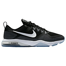 Buy Nike Zoom Women's Fitness Training Shoes, Black/White Online at johnlewis.com