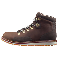 Buy Helly Hansen Klosters Leather Men's Boots, Espresso Online at johnlewis.com