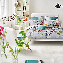Buy Designers Guild Aubriet Print Cotton Bedding Online at johnlewis.com