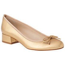 Buy L.K. Bennett Danielle Block Heeled Court Shoes Online at johnlewis.com