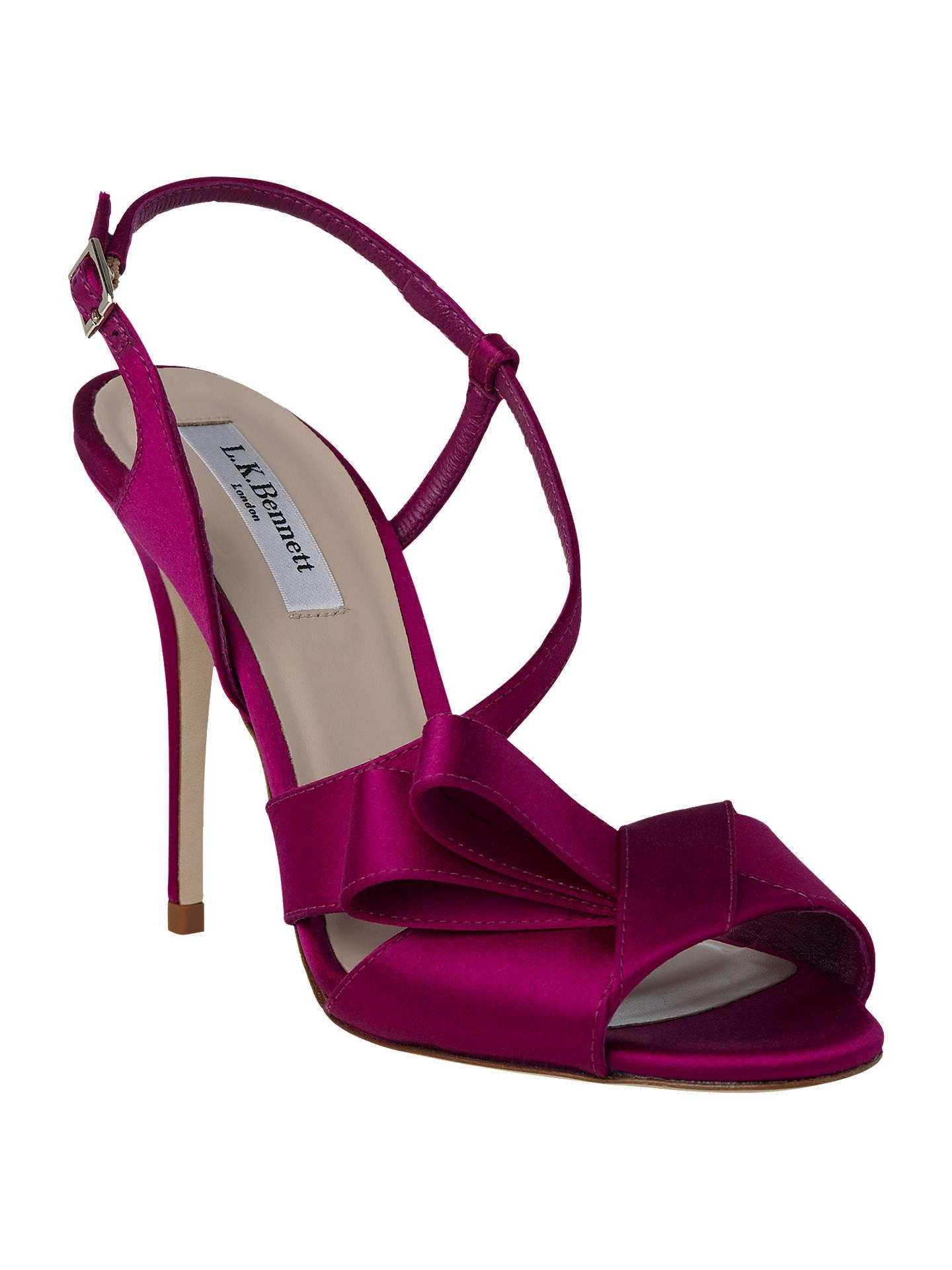 4ecd3d862e562a L.K. Bennett Erica Formal High Heel Sandals at John Lewis   Partners
