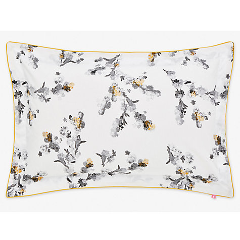Buy Joules Mono Blossom Print Cotton Bedding Online at johnlewis.com