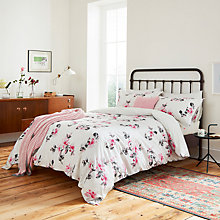 Buy Joules Dahlia Floral Print Cotton Bedding Online at johnlewis.com