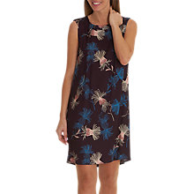 Buy Betty Barclay Floral Print Sleeveless Dress, Purple/Petrol Online at johnlewis.com
