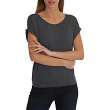 Buy Betty & Co. Cap Sleeve Textured Top, Magnet Online at johnlewis.com