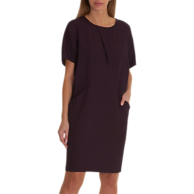 Betty Barclay Cocoon Dress, Dark Aubergine