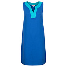Buy East Linen Notch Neck Dress Online at johnlewis.com