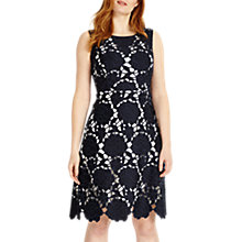 Buy Studio 8 Melody Dress, Navy Online at johnlewis.com