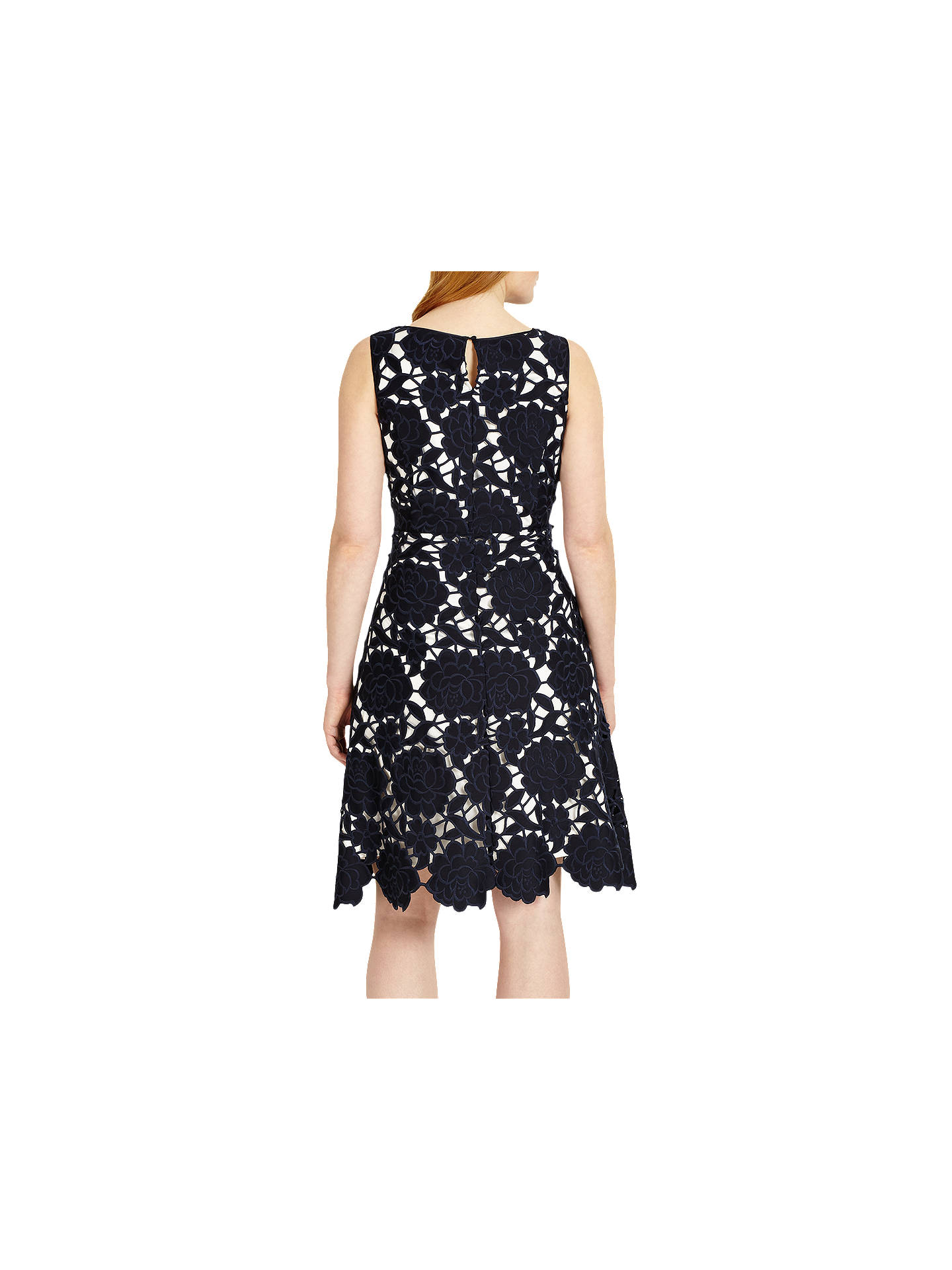 BuyStudio 8 Melody Dress, Navy, 12 Online at johnlewis.com