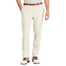 Buy Polo Golf by Ralph Lauren Tailored Fit Stretch Cotton Trousers, Basic Sand Online at johnlewis.com