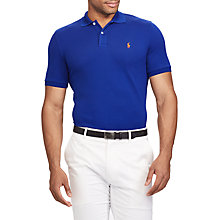 Buy Polo Golf by Ralph Lauren Polo Shirt, Active Royal Online at johnlewis.com