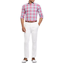 Buy Polo Golf by Ralph Lauren Long Sleeve Sport Shirt, Multi/Pink Online at johnlewis.com
