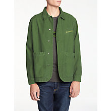 Buy Hawksmill Denim Co Reverse Jacket, Olive Online at johnlewis.com
