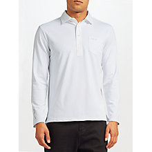 Buy Polo Golf by Ralph Lauren Long Sleeve Polo Shirt, Pure White Online at johnlewis.com