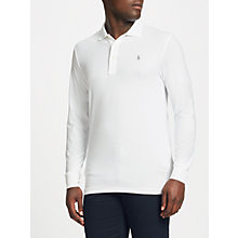 Buy Polo Golf by Ralph Lauren Lightweight Performance Polo Shirt, White Online at johnlewis.com