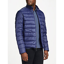 Buy Polo Golf by Ralph Lauren Pack Down Fill Jacket, French Navy Online at johnlewis.com