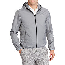 Buy Polo Golf by Ralph Lauren Packable Taffeta Anorak, Stone Grey Online at johnlewis.com