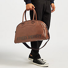 Buy Fred Perry Classic Grip Bag, Tan Online at johnlewis.com