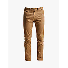 Buy Barbour Neuston Twill Trousers, Sand Online at johnlewis.com