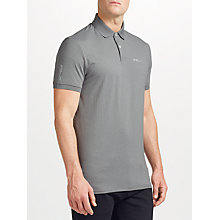 Buy Polo Golf by Ralph Lauren Short Sleeve Polo Top, Spectator Grey Heather Online at johnlewis.com