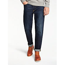 Buy Edwin ED-45 Loose Tapered Jean, Deep Blue Denim Online at johnlewis.com