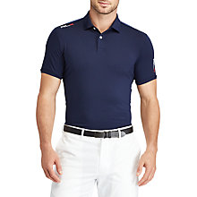 Buy Polo Golf by Ralph Lauren Custom Fit Performance Polo Shirt Online at johnlewis.com