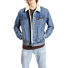 Buy Levi's Type 3 Sherpa Trucker Jacket, Needle Park Online at johnlewis.com