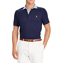 Buy Polo Golf by Ralph Lauren Club Lilsle Novelty Polo Shirt, French Navy Online at johnlewis.com