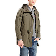 Buy Levi's 3-in-1 Fishtail Parka Jacket, Olive Night Online at johnlewis.com