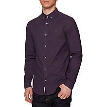 Buy Original Penguin Long Sleeve Basic Oxford, Nightshade Online at johnlewis.com