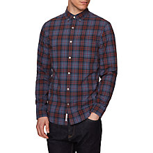 Buy Original Penguin Plaid Shirt, Dark Sapphire Online at johnlewis.com
