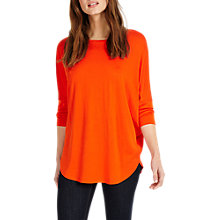 Buy Phase Eight Catrina Top, Orange Online at johnlewis.com