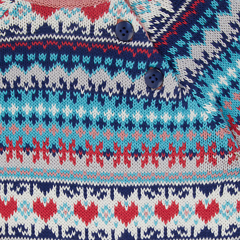 Buy John Lewis Baby Fair Isle Jumper, Multi | John Lewis