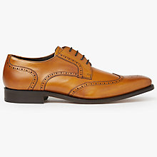 Buy Barker Jordan Wingtip Leather Derby Shoes Online at johnlewis.com