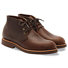 Buy Redwing Heritage Work Foreman Chukka Boots, Briar Oil Slick Online at johnlewis.com