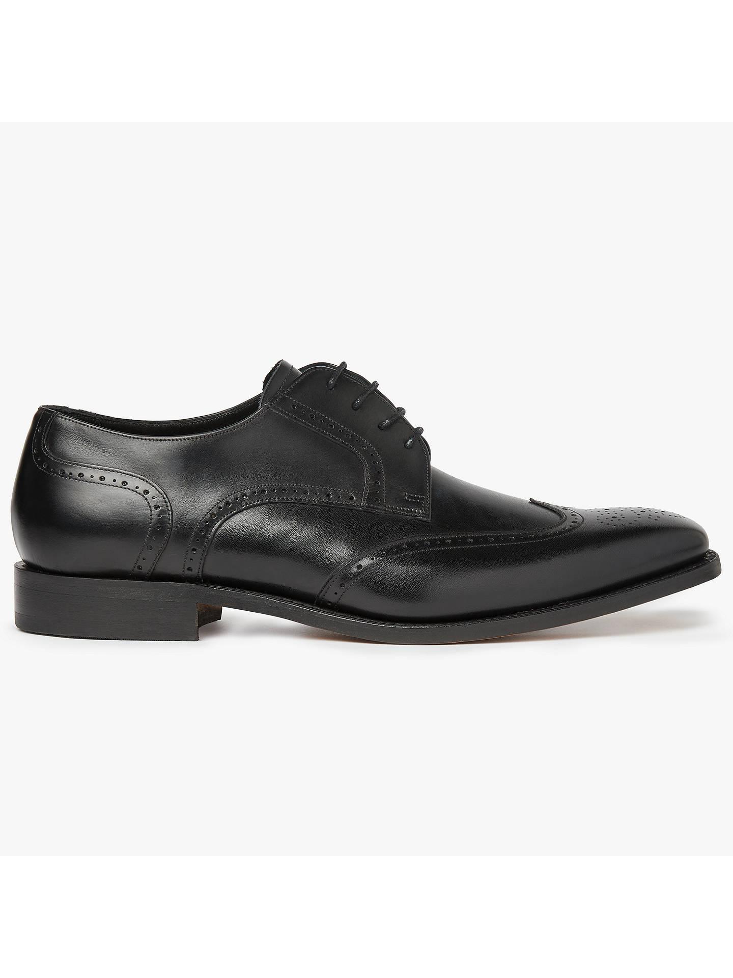 00cb7e90fb6 Barker Jordan Wingtip Leather Derby Shoes at John Lewis & Partners