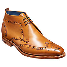 Buy Barker Lloyd Leather Chukka Boots, Cedar Online at johnlewis.com