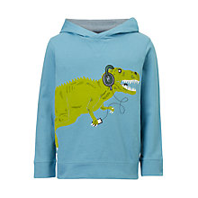 Buy John Lewis Boys' Dinosaur Hoodie, Blue Online at johnlewis.com