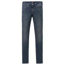 Buy Lee Scarlett High Waist Skinny Jeans, Darkside Blue Online at johnlewis.com