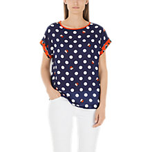 Buy Marc Cain Spot Print Top, Multi Online at johnlewis.com
