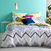 Buy Kas Denka Print Cotton Bedding Online at johnlewis.com