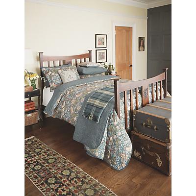 Morris & Co Strawberry Thief Cotton Bedding, Slate