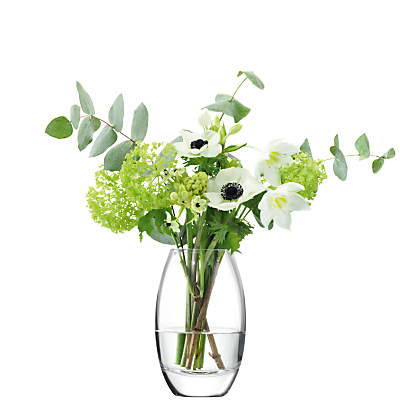 LSA International Verona Vase, Clear