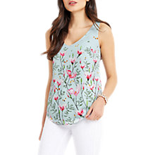 Buy Oasis Magnolia Vest, Multi Blue Online at johnlewis.com