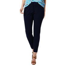 Buy Studio 8 Cressida Trousers, Navy Online at johnlewis.com