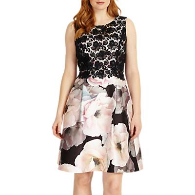 Studio 8 Abigail Dress, White/Pink