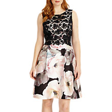 Buy Studio 8 Abigail Dress, White/Pink Online at johnlewis.com
