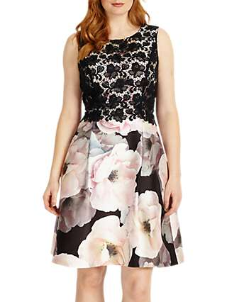 Studio 8 Abigail Dress, White/Pink